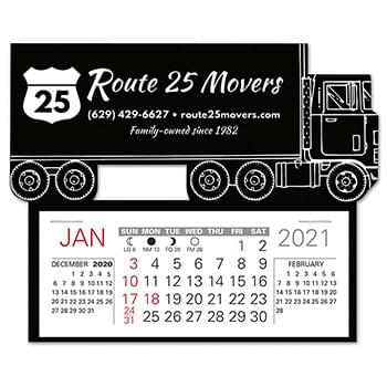 Semi Truck Easy Stick Calendar
