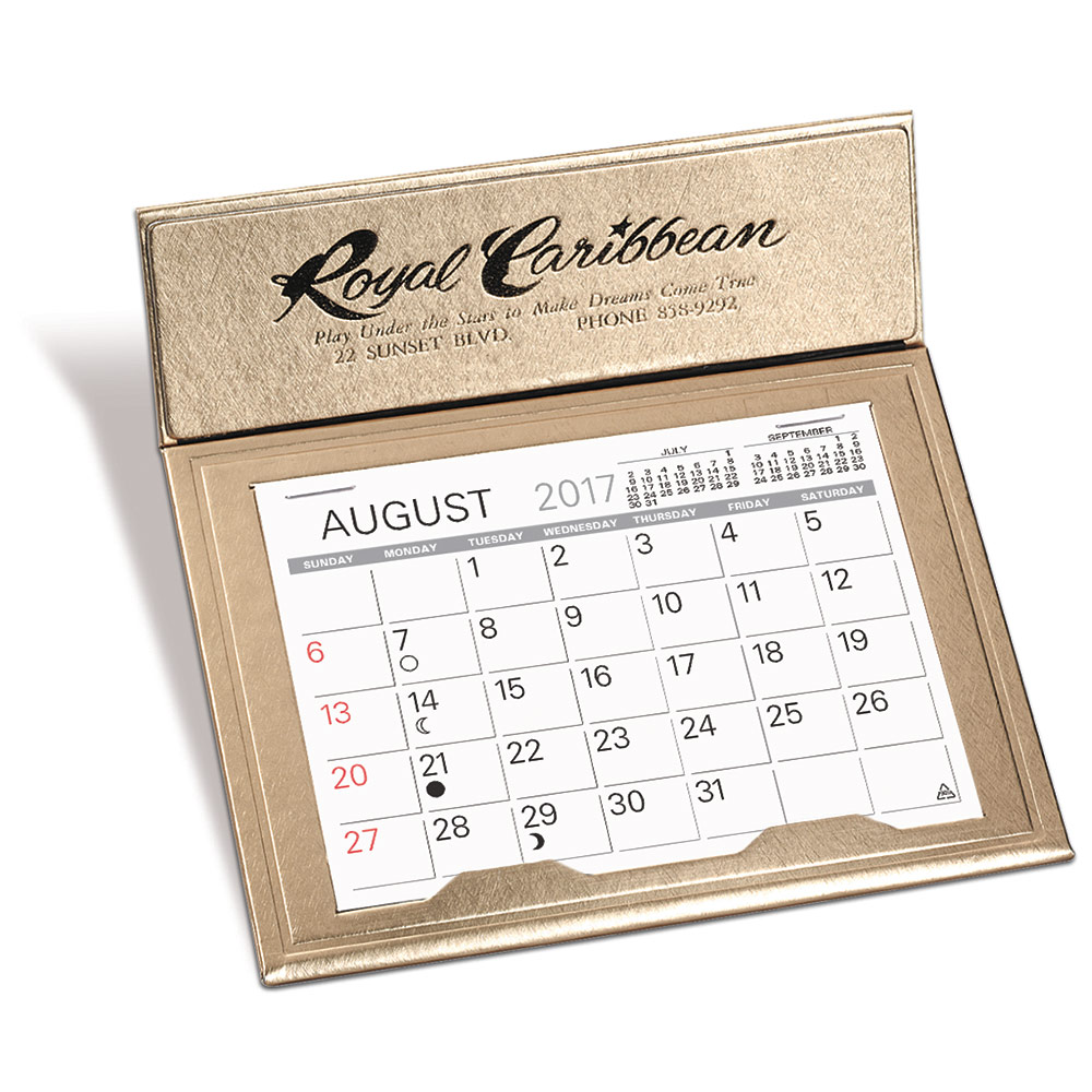 Crown Desk Calendar