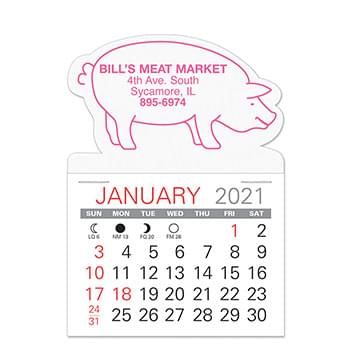 Pig Standard Pad Value Stick Calendar