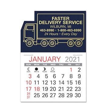 Truck Standard Pad Value Stick Calendar