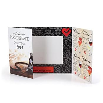 Custom Coupon Gatefold Event Folder - Standard
