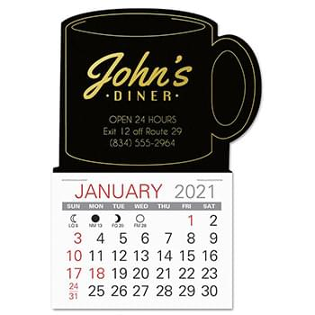 Mug Shape Easy Stick Calendar