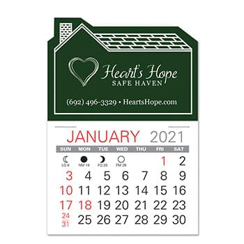 House Standard Pad Value Stick Calendar
