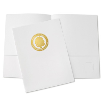 Small Quantity Folders - Std White Coated